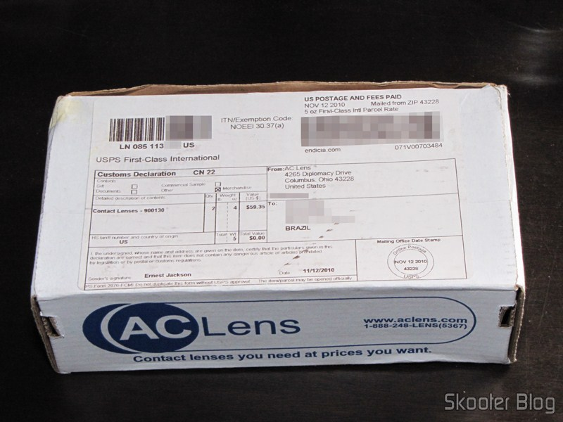 AC Lens: Cheap Contact Lenses directly from the U.S.A.